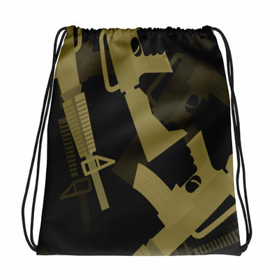 M4 Dark CAMO Drawstring bag - OPSGEAR