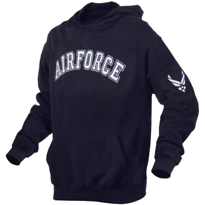 OPSGEAR:Military Embroidered Pullover Hoodie AIR FORCE - Rothco