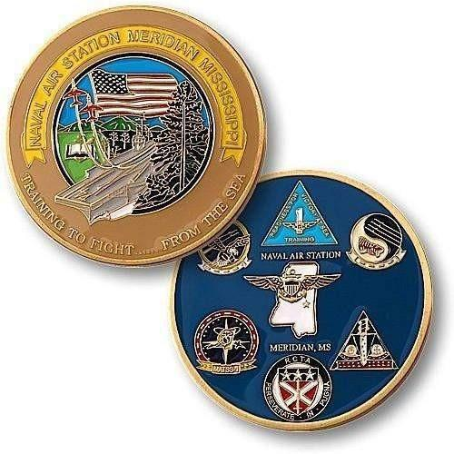 Naval Air Station Meridian, MS Challenge Coin - OPSGEAR