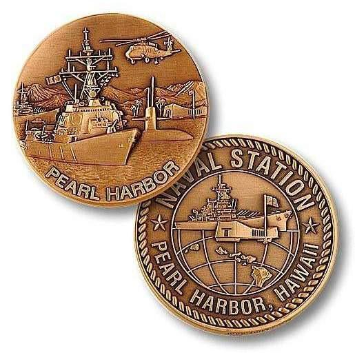 Naval Station Pearl Harbor Challenge Coin - OPSGEAR