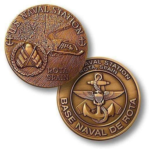 Naval Station Rota Spain Challenge Coin - OPSGEAR