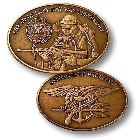 Navy Seal Challenge Coin - OPSGEAR