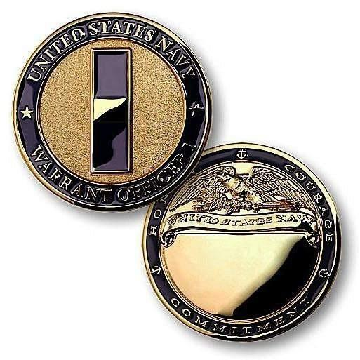 Navy Warrant Officer 1 Challenge Coin - OPSGEAR
