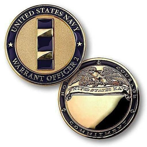 Navy Warrant Officer 2 Challenge Coin - OPSGEAR