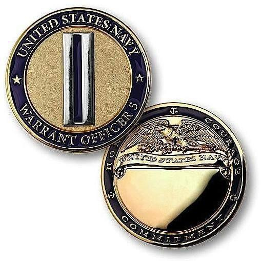 Navy Warrant Officer 5 Challenge Coin - OPSGEAR