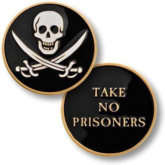 No Prisoners Challenge Coin - OPSGEAR