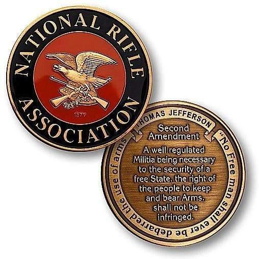 NRA Enamel - Second Amendment Challenge Coin - OPSGEAR
