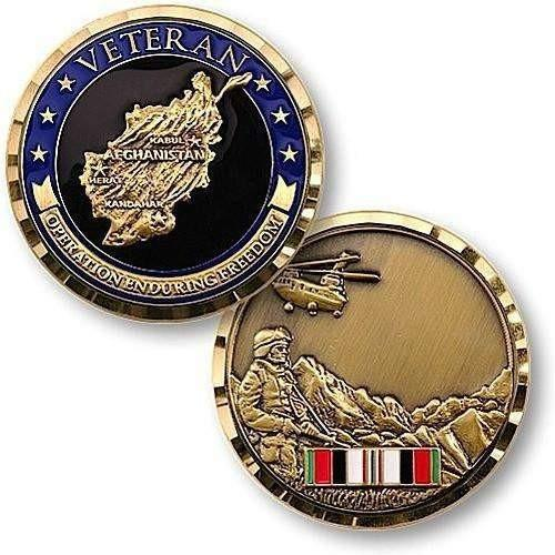 Operation Enduring Freedom Veteran Coin - OPSGEAR