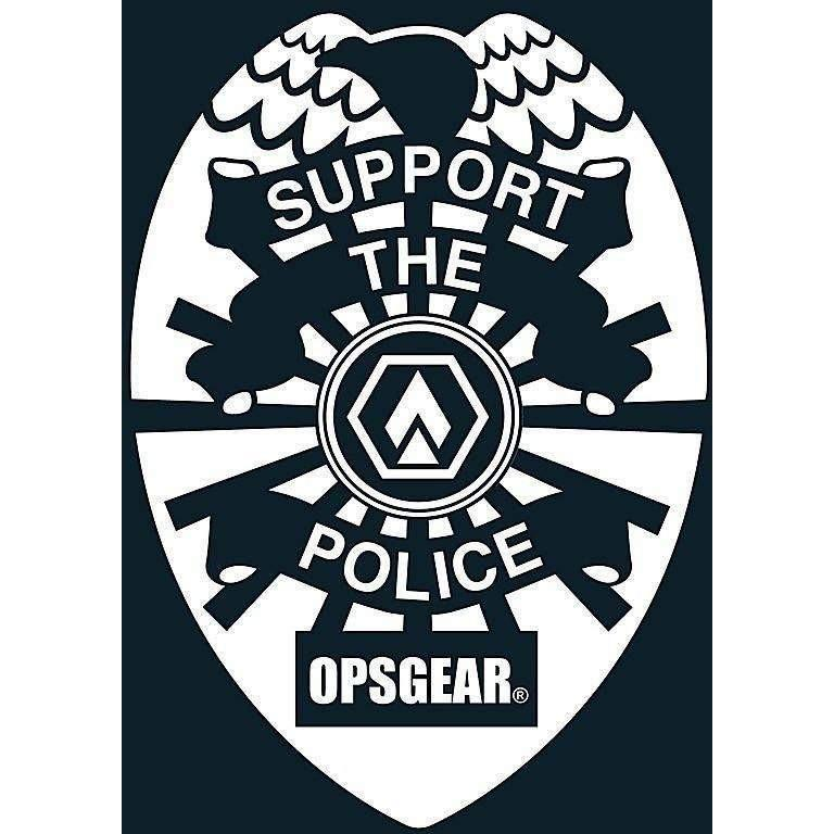 "OPSGEAR Support Police Decal - 3"" x 3"" - OPSGEAR"