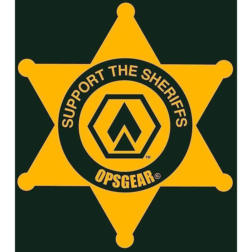 "OPSGEAR Support Sheriff Decal - 3"" x 3"" - OPSGEAR"