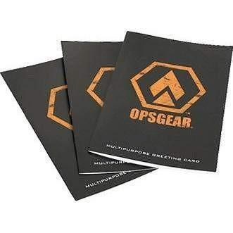 OPSGEAR® Multi-Purpose Greeting Card (10 Pack) - OPSGEAR