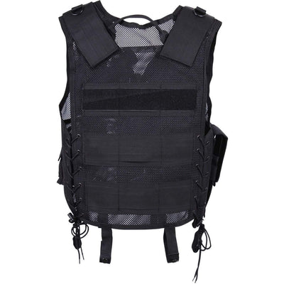 Quick Draw Tactical Vest - Black - Rothco - OPSGEAR
