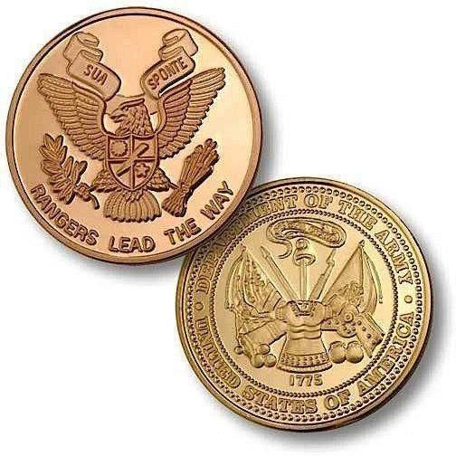 Rangers Army MerlinGold Challenge Coin - OPSGEAR