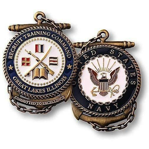 Recruit Training Command Challenge Coin - OPSGEAR
