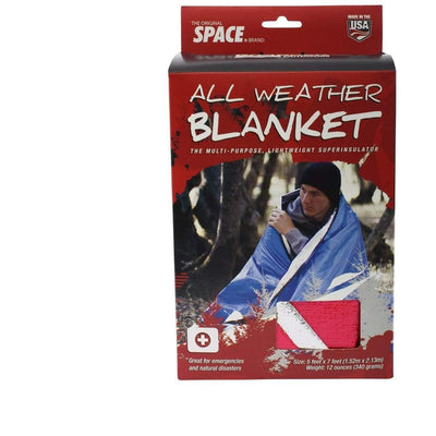 Red All Weather Survival Blanket - Rothco - OPSGEAR
