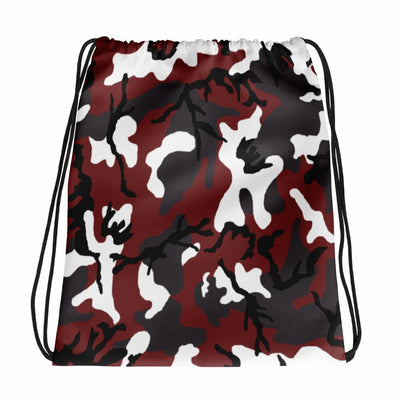 Red CAMO Drawstring bag - OPSGEAR