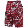 Red Digital Camo BDU Shorts - Rothco - OPSGEAR