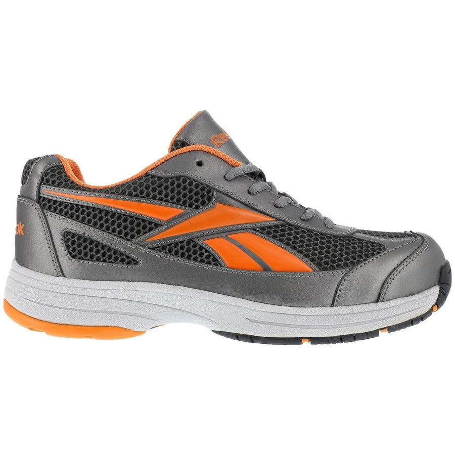 Reebok Athletic Cross Trainer - Pewter with Orange Trim - OPSGEAR