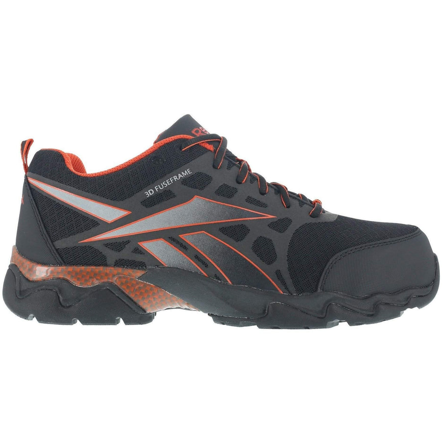 Reebok Beamer - Seamless Athletic Oxford - Black with Red trim - OPSGEAR