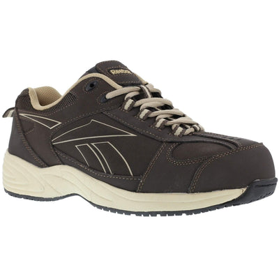 Reebok Men's Street Sport Jogger Oxford - Brown and Taupe - OPSGEAR