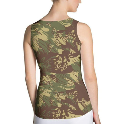 Rhodesian Bush CAMO Sublimation Cut & Sew Tank Top - OPSGEAR