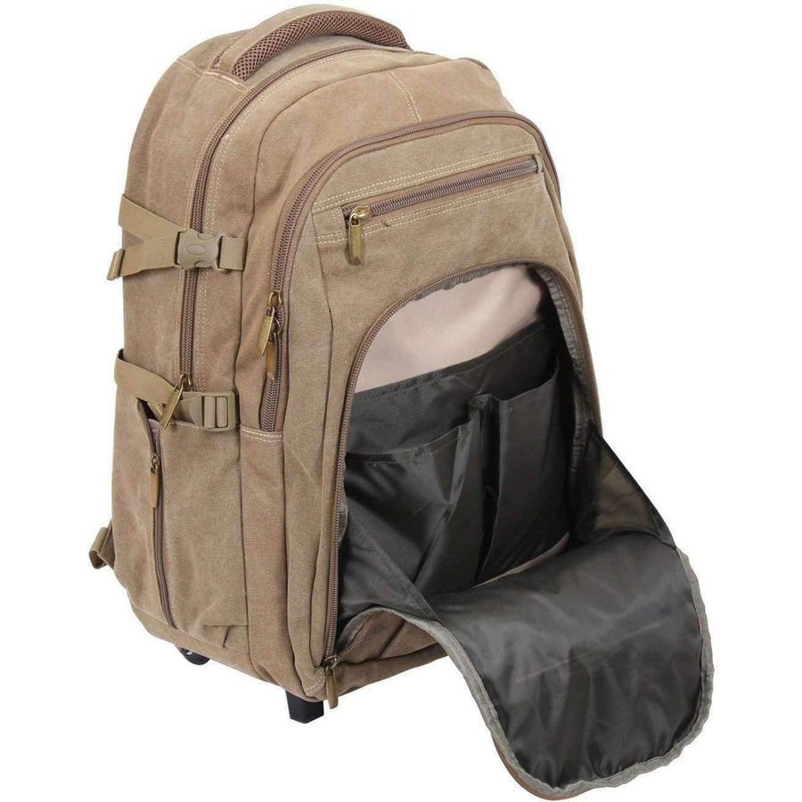 Rolling Canvas Backpack Limited time only - OPSGEAR