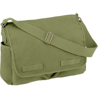 Rothco Vintage Unwashed Canvas Messenger Bag - Rothco - OPSGEAR