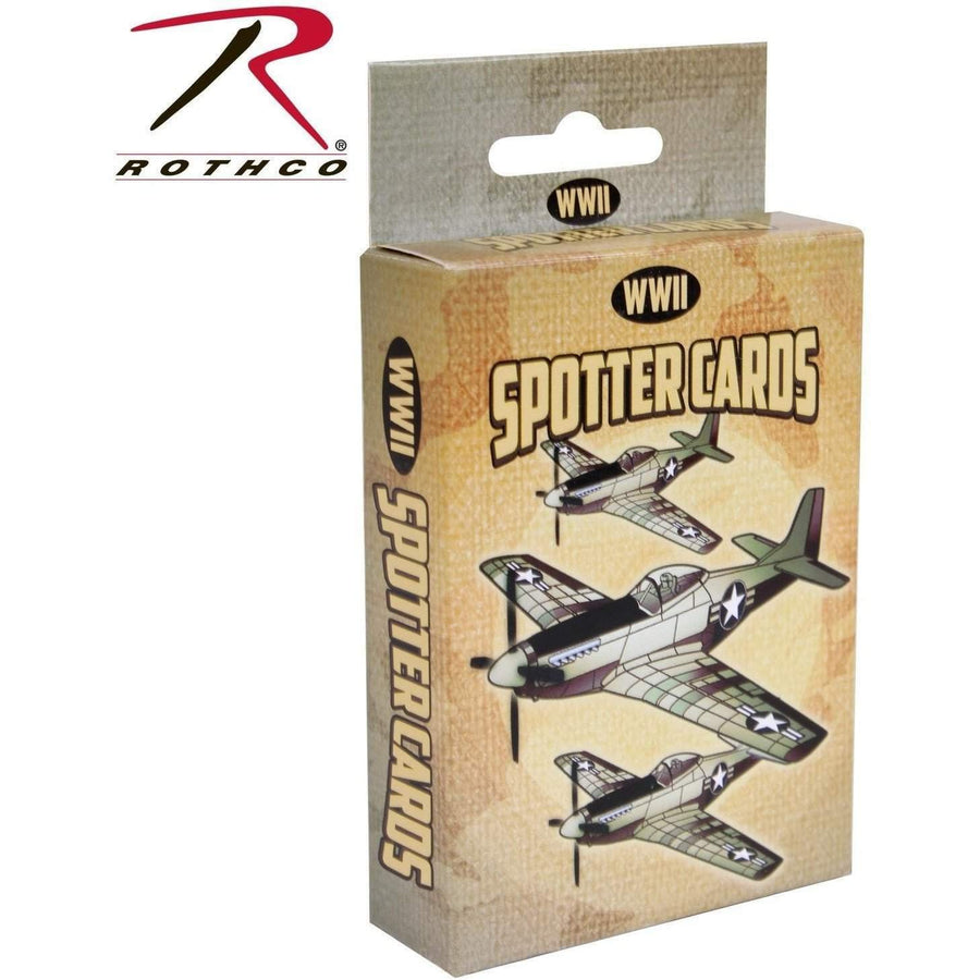 Rothco WWII Spotter Cards - Rothco - OPSGEAR