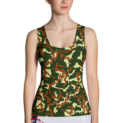 Russian CAMO Sublimation Cut & Sew Tank Top - OPSGEAR