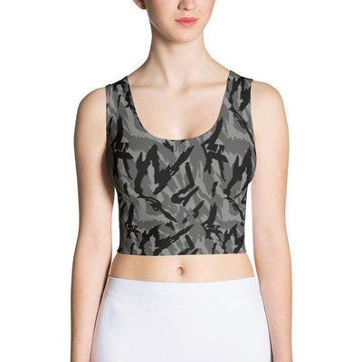 Russian Reed Urban CAMO Sublimation Cut & Sew Crop Top - OPSGEAR