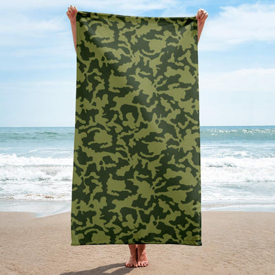 Russian Woodland Bi-Color CAMO Towel - OPSGEAR