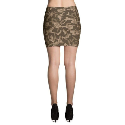 Russian Woodland Brown CAMO Mini Skirts - OPSGEAR