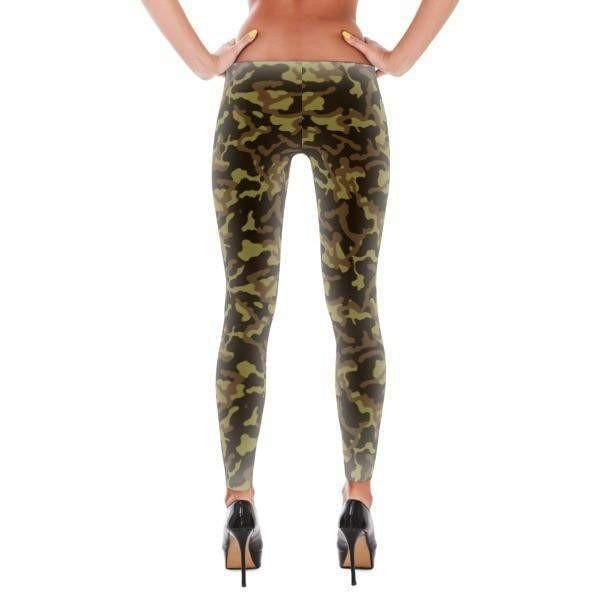 Russian Woodland Summer Camo All-Over Leggings - OPSGEAR