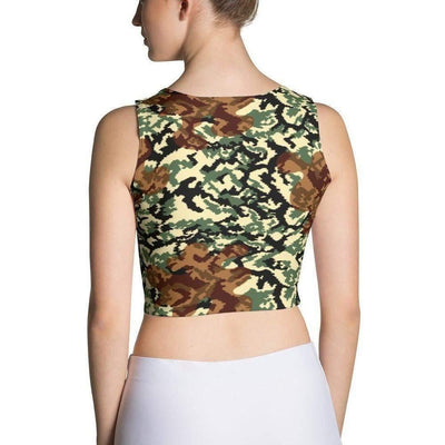 Russian WWII Trial Pattern CAMO Sublimation Cut & Sew Crop Top - OPSGEAR