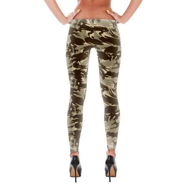 Saudi Arabia DPM Desert Camo All-Over Leggings - OPSGEAR