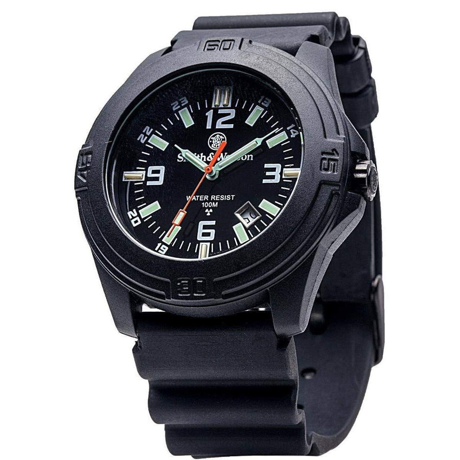 Smith & Wesson Soldier Watch - Tritium, Rubber Strap - OPSGEAR