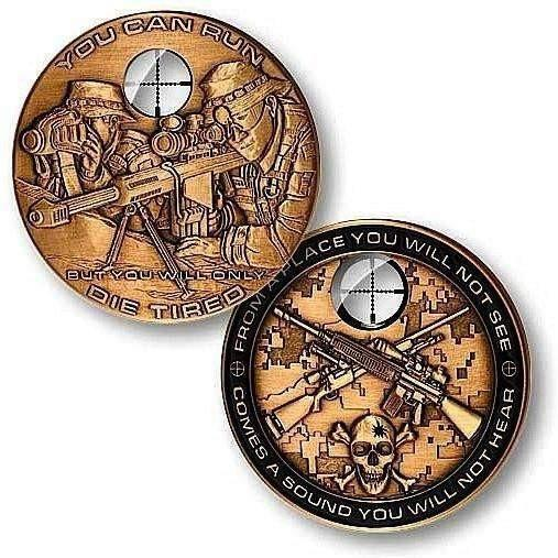 Sniper Challenge Coin - OPSGEAR