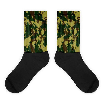 South African Transkei CAMO Black foot socks - OPSGEAR