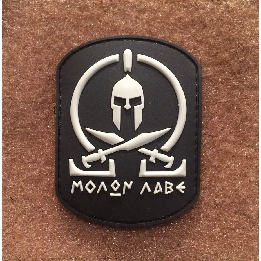 Spartan MOLON LABE Rectangle PVC Morale Patch - OPSGEAR