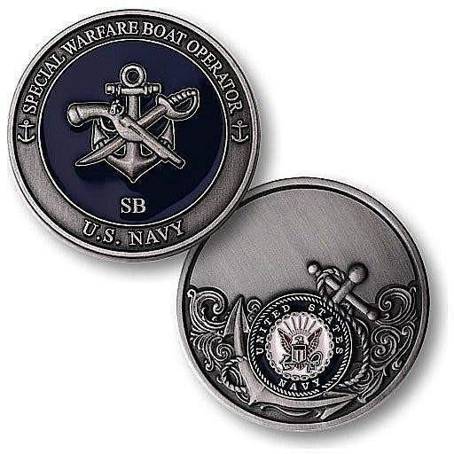 Special Warfare Boat Operator Challenge Coin - OPSGEAR