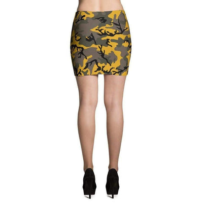 Stinger Yellow CAMO Mini Skirts - OPSGEAR