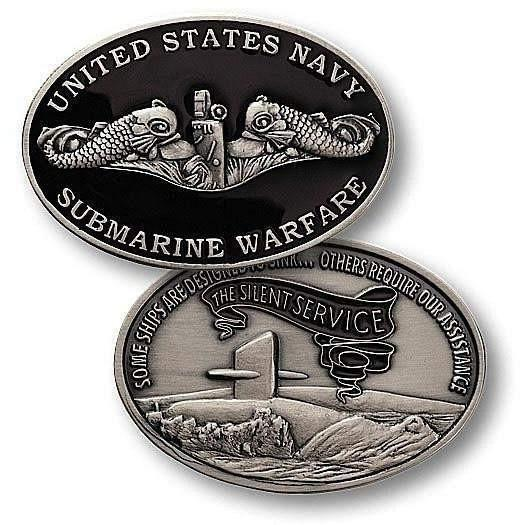 Submarine Warfare Enlisted Challenge Coin - OPSGEAR