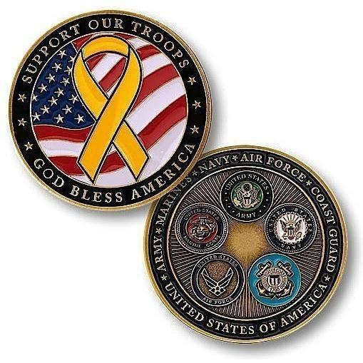 Support Our Troops Challenge Coin - OPSGEAR
