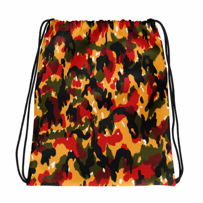 Swiss Alpenflage CAMO Drawstring bag - OPSGEAR