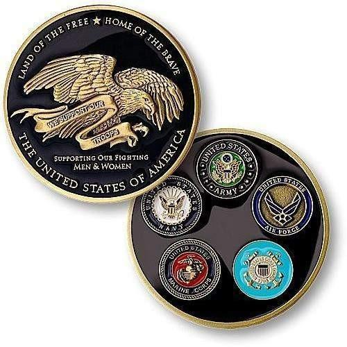 Thank You to Troops Coin - OPSGEAR