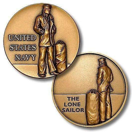 The Lone Sailor Challenge Coin - OPSGEAR
