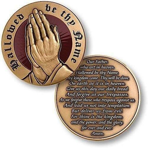 The Lord's Prayer Coin - OPSGEAR