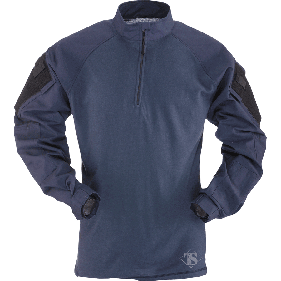 TRU-SPEC 1/4 Zip TRU Nylon/Cotton Combat Shirt - SOLID COLORS - OPSGEAR