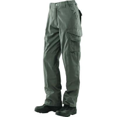 TRU-SPEC 24-7 Mens Tactical Pants 100% Cotton Canvas - Olive Drab - OPSGEAR