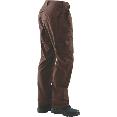 TRU-SPEC 24-7 Mens Tactical Pants 65/35 Polyester/Cotton Rip-Stop Brown - OPSGEAR